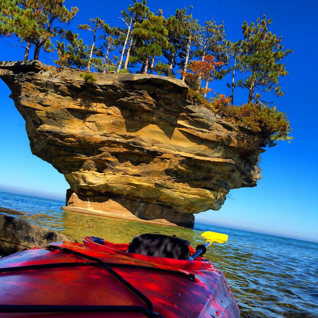 The Michigan Bucket List - Turnip Rock