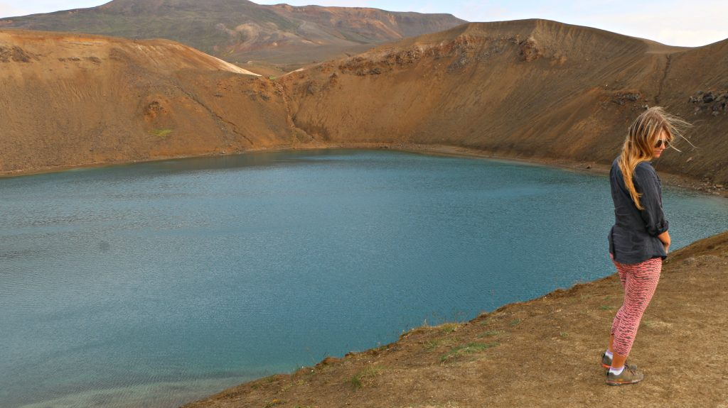 Iceland's Ring Road - Crater