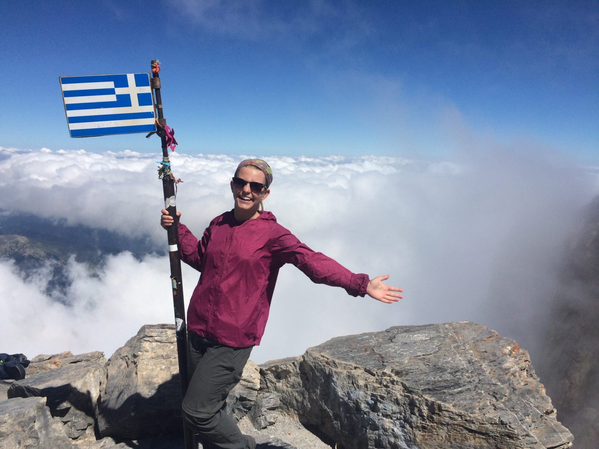 Mount Olympus Hike - Official Summit