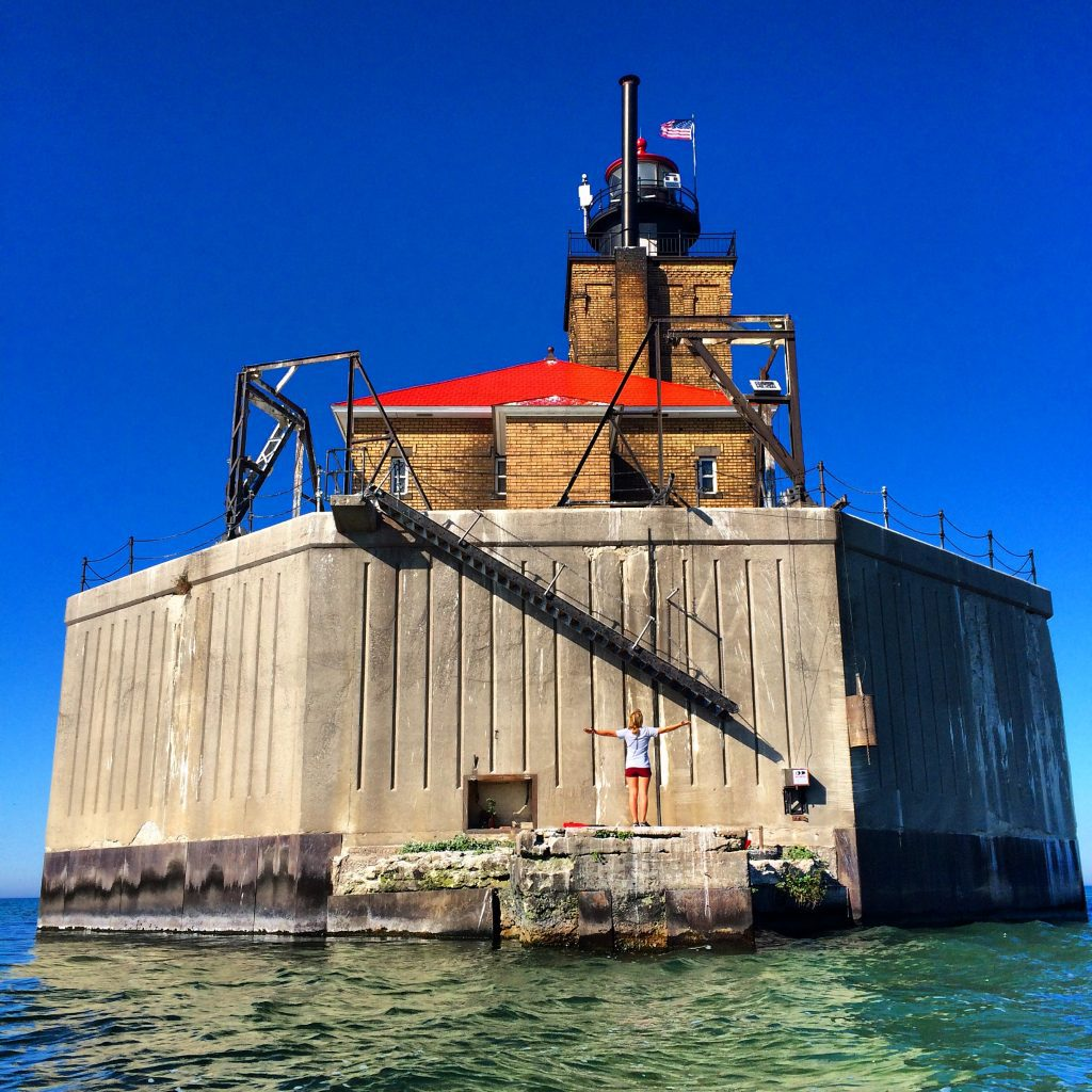 best michigan lighthouses- Port Austin