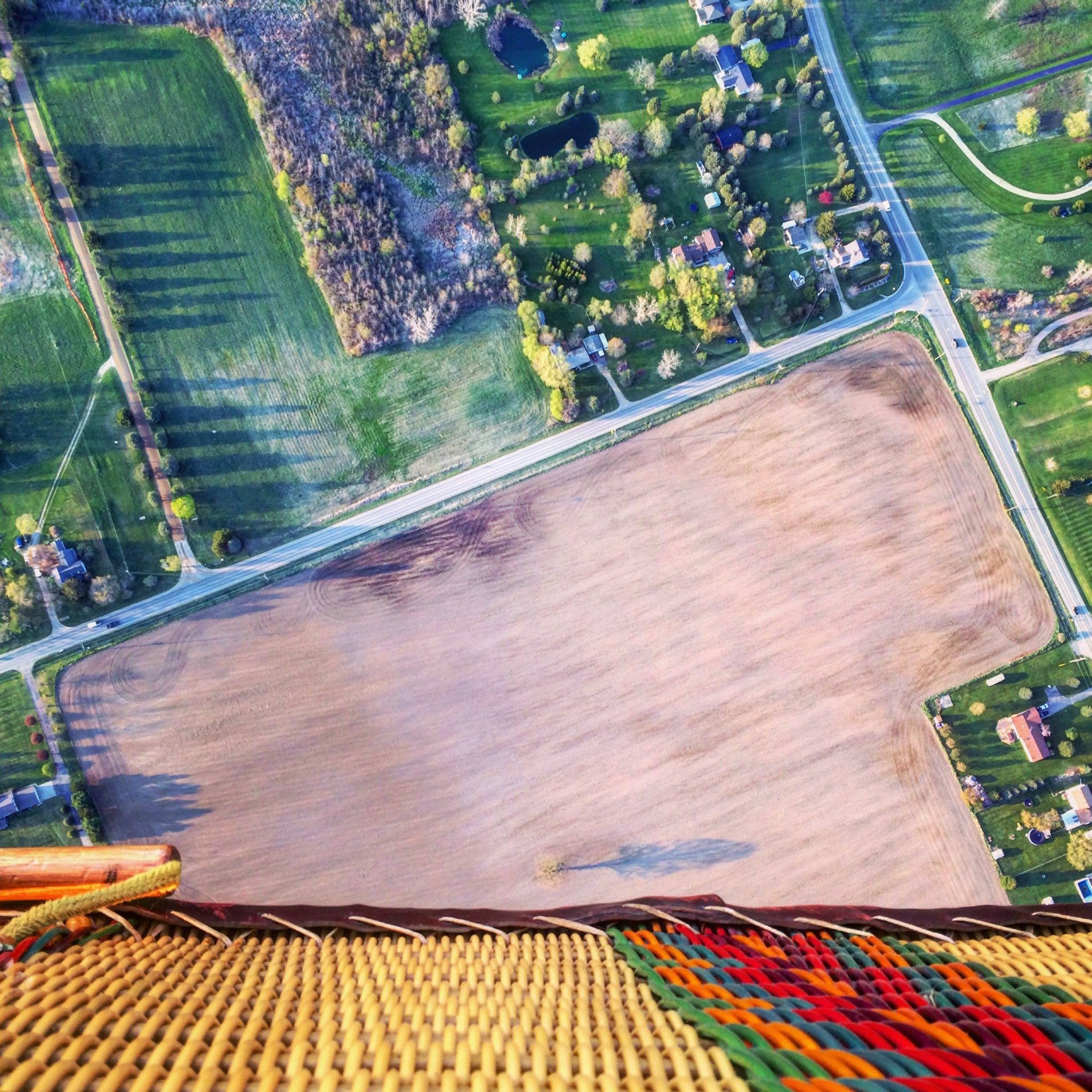 The Michigan Bucket List - Hot Air Balloon